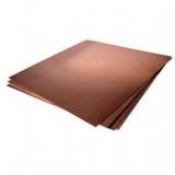 Лист металл. медь М1Т  1.5x600x1500