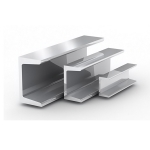 Швеллер АД31Т алюминиевый, п-образный