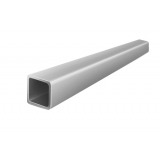 Алюминиевая профильная труба АД31, Т1 25x25x3x4000